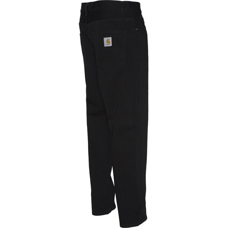 NEWEL PANT I024905. - Jeans - Relaxed fit - BLACK RINSED - 3